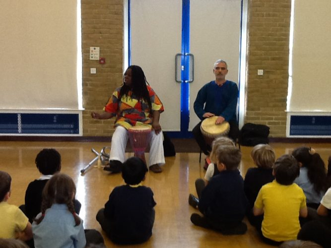 Visit from storyteller Jan Blake
